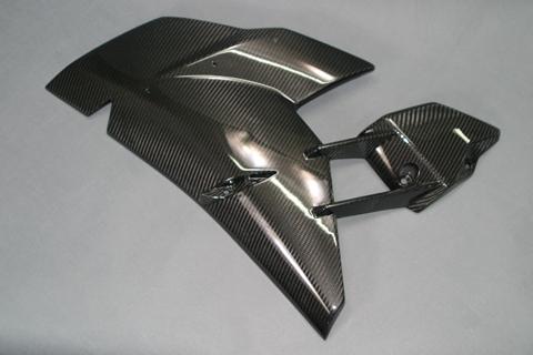 Ninja H2/R(15年~) サイドカウル 左右セット 綾織ドライカーボン ツヤ有 クリア塗装済 A-TECH(エーテック)