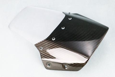 KATANA(刀)19年 平織ドライカーボン エアロスクリーン アクアパープル A-TECH(エーテック)