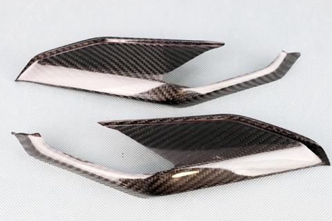 KATANA(刀)19年 綾織ドライカーボン 純正タイプ ポジションライトカバー クリア塗装済 A-TECH(エーテック)