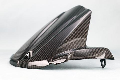 KATANA(刀)19年 平織ドライカーボン 純正タイプリアフェンダー 純正タイプ クリア塗装済 A-TECH(エーテック)