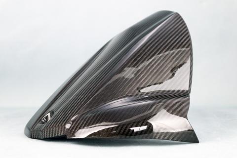 KATANA(刀)19年 ドライカーボンケブラー リアフェンダー クリア塗装済 A-TECH(エーテック)