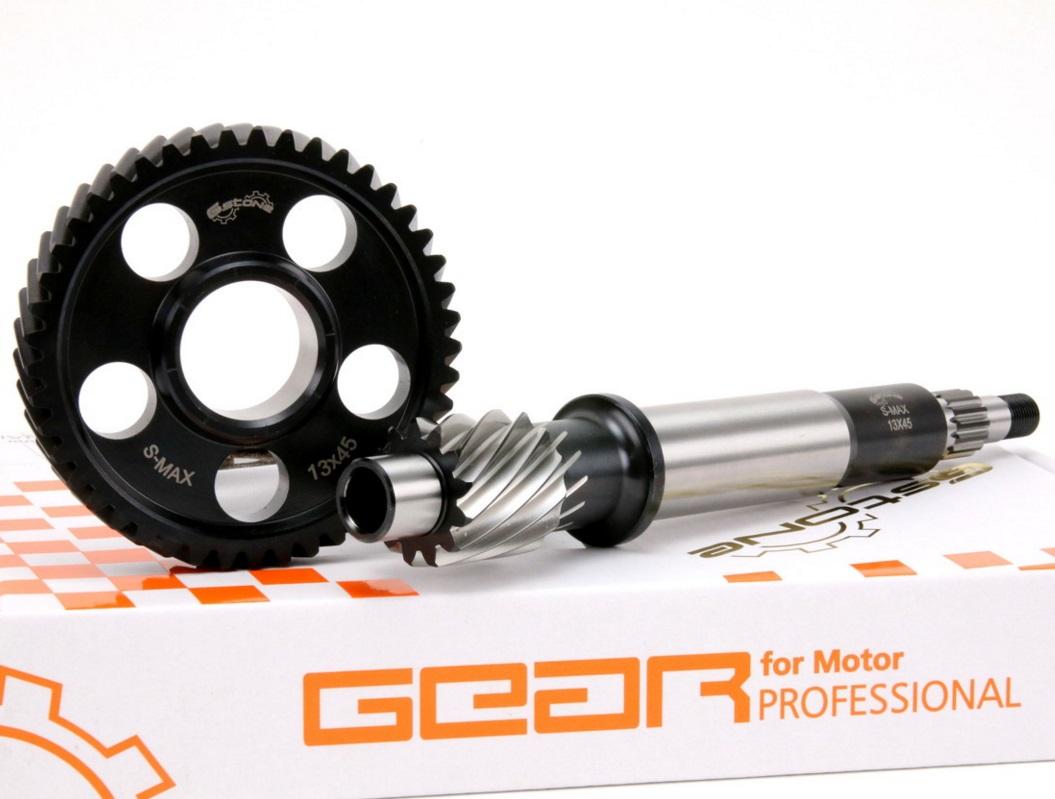 SMAX Gstone 軽量プライマリギアセット GNタイプ 13×45T ATLAS(アトラス)