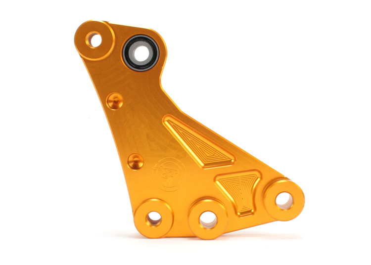 SMAX JSM 3cmローダウンサスペンションリンク ブラケット ゴールド ATLAS(アトラス)