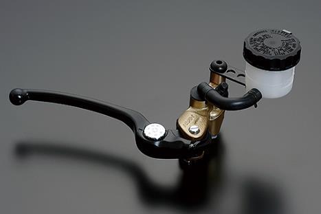 NISSIN ラジアルマスターシリンダー鍛造モデル 19mm ブラックスタンダードレバー/ゴールドボディー ADVANTAGE(アドバンテージ)