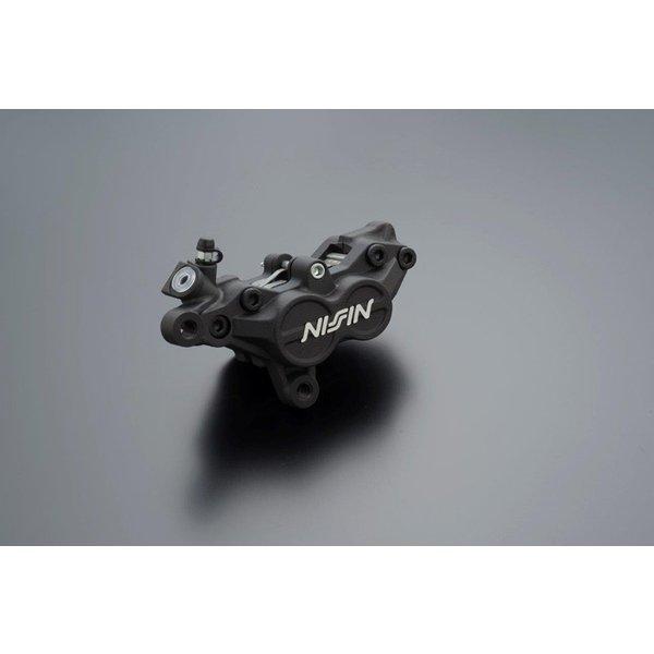 NISSIN 4Pot ブレーキキャリパー(TZタイプ レース専用)83mm/2パッド 左側 ブラック ADVANTAGE(アドバンテージ)