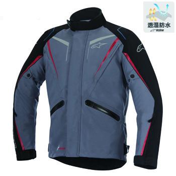 ヨコハマ ドライスター ジャケット ダークグレー/ブラック/レッド Lサイズ アルパインスターズ(alpinestars)