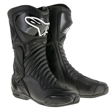 SMX6 レースブーツ ブラック/ブラック 40/25.5cm アルパインスターズ(alpinestars)