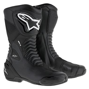 SMX-S ツーリングブーツ ブラック/ブラック 42/26.5cm アルパインスターズ(alpinestars)