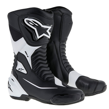 SMX-S ツーリングブーツ ブラック/ホワイト 40/25.5cm アルパインスターズ(alpinestars)