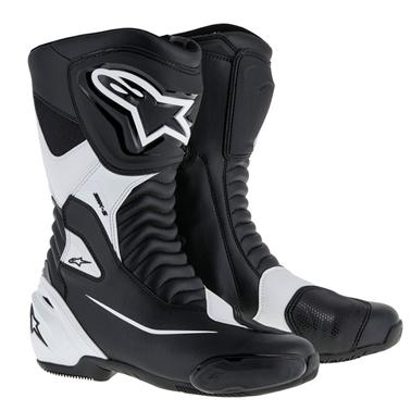 SMX-S ツーリングブーツ ブラック/ホワイト 42/26.5cm アルパインスターズ(alpinestars)