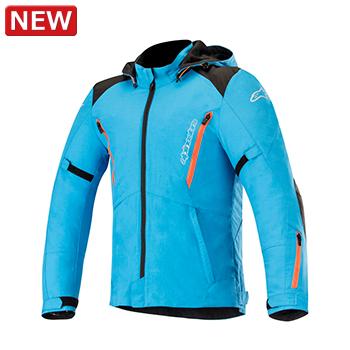 バジャージャケット ブルー/ブラック Mサイズ アルパインスターズ(alpinestars)
