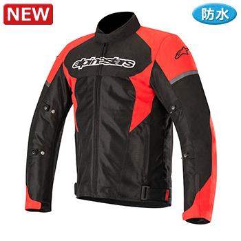 ローマV2 ウォータープルーフジャケット ブラック/レッド Lサイズ アルパインスターズ(alpinestars)