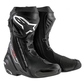 スーパーテックR ブーツ ブラック 44/28.5cm アルパインスターズ(alpinestars)