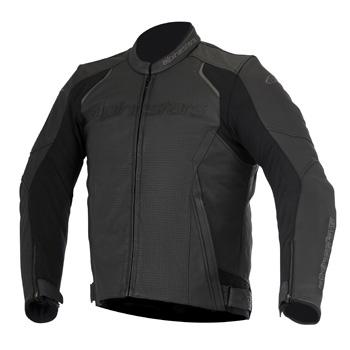 デーボン エアフローレザージャケット ブラック 50サイズ アルパインスターズ(alpinestars)
