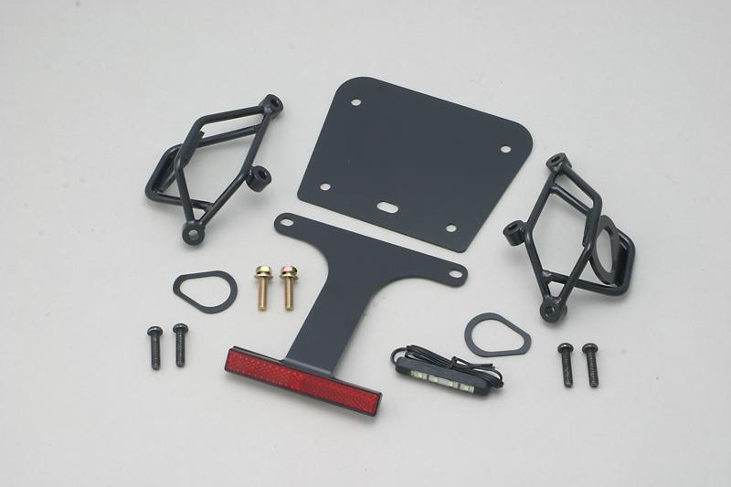 MT-03(EBL-RH07J) フェンダーレスキット(LEDナンバー灯・スリムリフレクター付属) ADIO(アディオ)