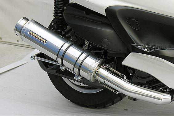 グランドマジェスティ400(O2センサー装着モデル) GGタイプマフラー BSタイプ メタルタイプ ASAKURA(浅倉商事)