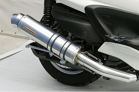 グランドマジェスティ400(O2センサー装着モデル) GGタイプマフラー レーシングタイプ メタルタイプ ASAKURA(浅倉商事)