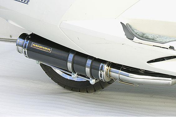 マグザム(MAXAM)SG21J GGタイプマフラー BSタイプ ブラックカーボン ASAKURA(浅倉商事)
