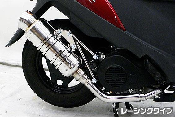アドレスV125 CF4EA(O2センサー有) SHタイプマフラー レーシングタイプ ASAKURA(浅倉商事)