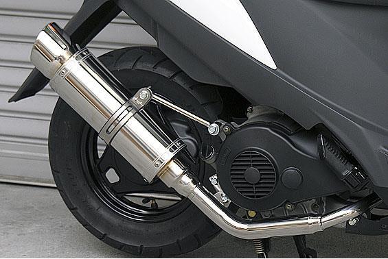 アドレスV125 CF4EA(O2センサー有) RJタイプマフラー RSタイプ ASAKURA(浅倉商事)