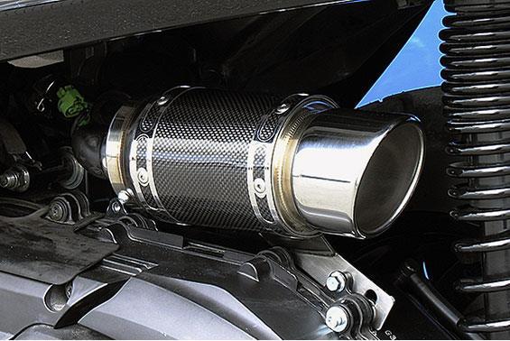 グランドマジェスティ250 エアクリーナーキットRSタイプ ブラックカーボン ASAKURA(浅倉商事)