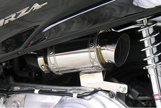 フォルツァ(FORZA)MF08 エアクリーナーキットレーシングタイプ メタルタイプ ASAKURA(浅倉商事)