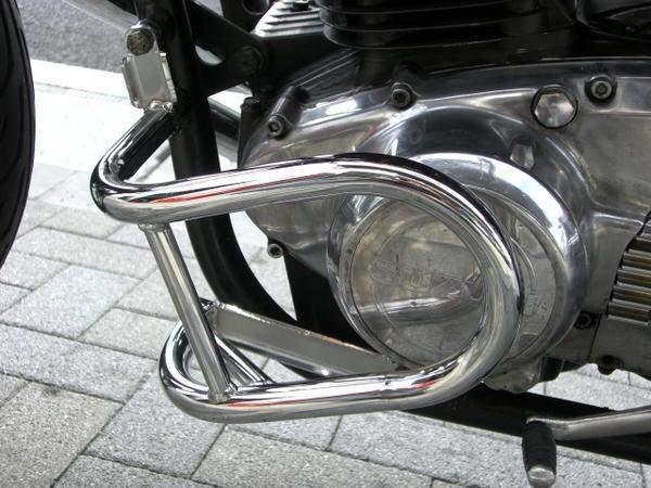 GS400 メッキエンジンガード ACP(エーシーピー)