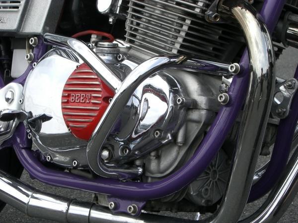 GSX400E ゴキ メッキエンジンガード ACP(エーシーピー)