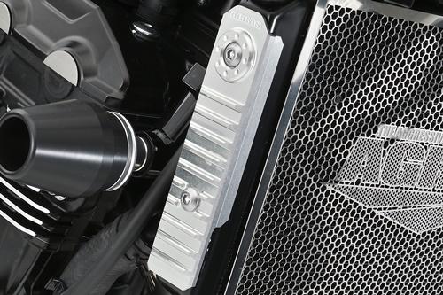 Z900RS(2BL-ZR900C) ラジエターサイドカバー シルバー AGRAS(アグラス)