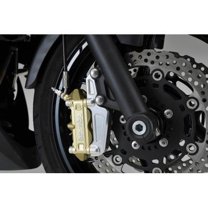 キャリパーサポート ラジアルマウントキャリパー100mmピッチ専用 AGRAS(アグラス) Ninja400R(ニンジャ)