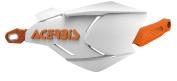AC-22397 X-FACTORYハンドガード ホワイト/オレンジ アチェルビス(ACERBIS)