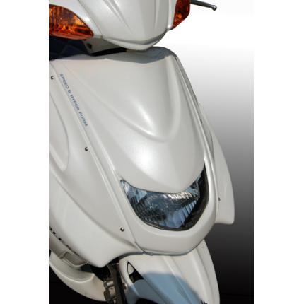 シグナスX(CYGNUS-X)SE12J フロントフェイスマスク(未塗装白ゲル) BLESS CREATION(ブレスクリエイション)