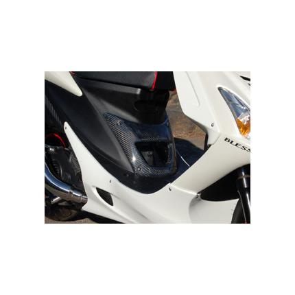 アドレスV125S(ADDRESS) ダクトパネルカーボン・クリア塗装品 BLESS CREATION(ブレスクリエイション)