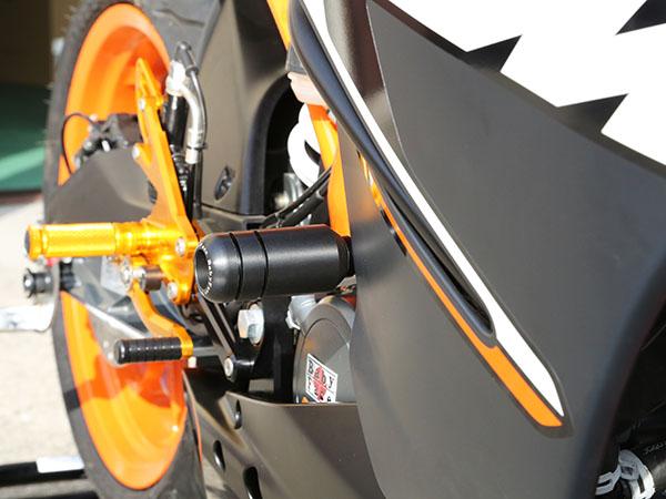 KTM RC125(15年~) フレームスライダー BABYFACE(ベビーフェイス)