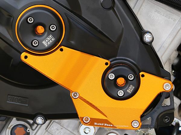 GSX-R1000(17年) エンジンカバー・ハードプロテクター BABYFACE(ベビーフェイス)