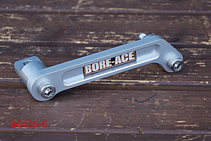 SR400 ジュラルミン グラブバー シルバー BORE-ACE(ボアエース)