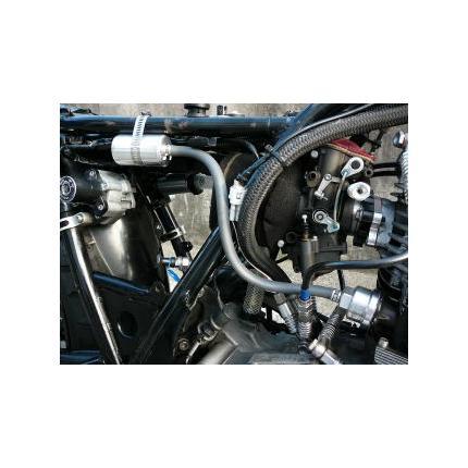 容量拡大バイパスキット カムカバー用(シルバー) SR400 BORE-ACE(ボアエース)