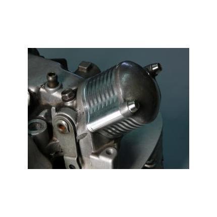 タペットカバー用放熱フィン 容積拡大アダプタ SR400 BORE-ACE(ボアエース)