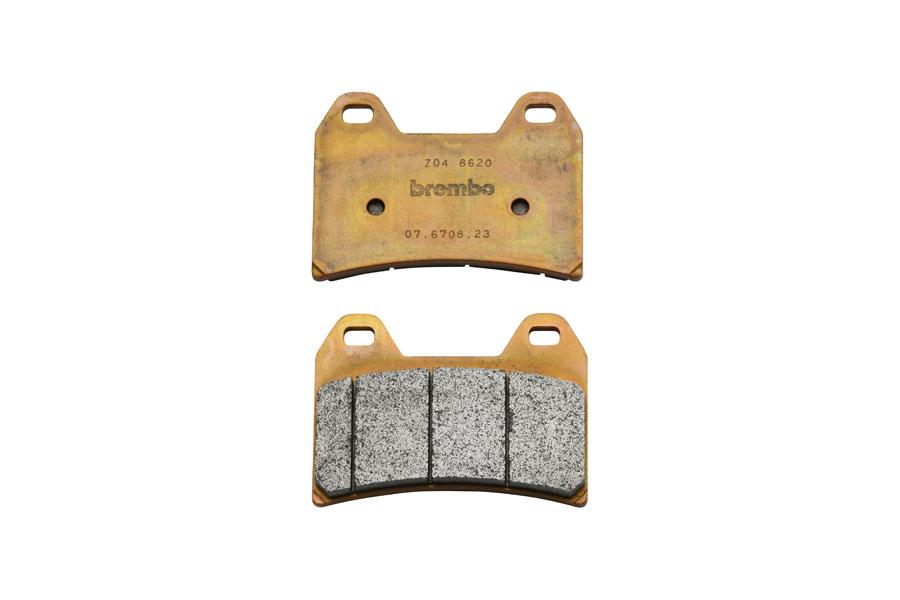 【送料無料】 107.6708.23 ブレーキパッド 2ピン Z04 4Pラジアル/Axialキャリパー用 BREMBO(ブレンボ)