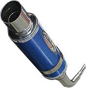 アドレスV125(ADDRESS)~K7 メタルハイブリッドマフラー ドラッガー サイレンサーカラー/ガンメタ BURIAL(ベリアル)