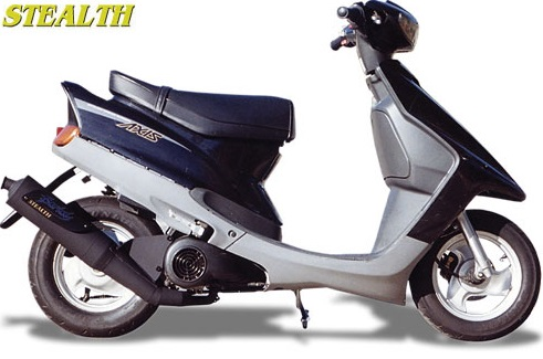 JOG90 ステルスマフラー BURIAL(ベリアル)