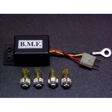 LEDウインカーバルブ・デジタルリレーセット ビームーンファクトリー(B-MoonFactory) 4ストJOG(全車種)
