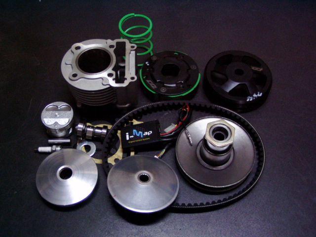 シグナスX(CVGNUS-X)SE44J バリューセットAセット 155.6cc(ハイカム、i-map、プラグ、駆動キット付属) ビームーンファクトリー(B-MoonFactory)