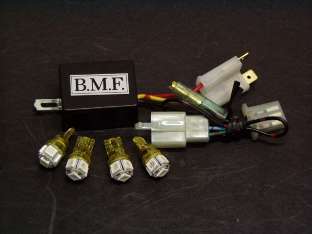 リード125(LEAD) LEDウインカーバルブ デジタルリレーセット ビームーンファクトリー(B-MoonFactory)