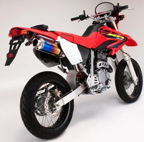 XR250(MD30) SS300チタンマフラー スリップオン BEAMS(ビームス)