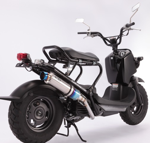 ズーマー(ZOOMER)インジェクション車 R-EVO(レーシングエヴォ)マフラー チタンサイレンサー BEAMS(ビームス)