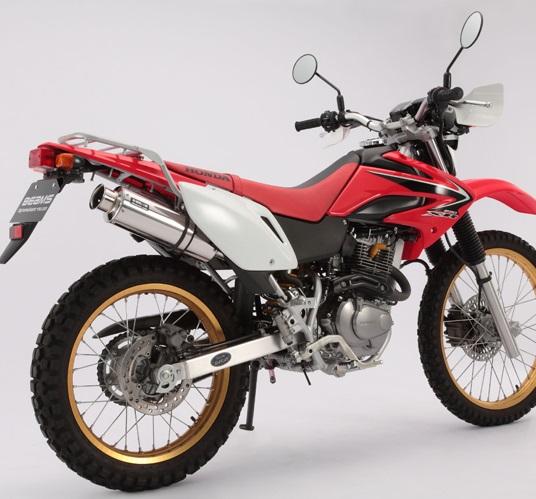 XR230/モタード(MD36) SS300ソニックマフラー スリップオン BEAMS(ビームス)