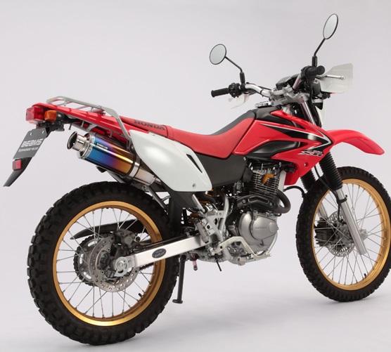 XR230/モタード(MD36) SS300チタンマフラー スリップオン BEAMS(ビームス)