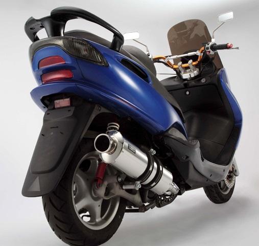 マジェスティ125(MAJESTY) ST OVALマフラー BEAMS(ビームス)