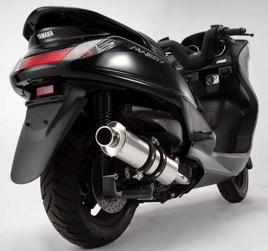 グランドマジェスティ250(SG15J) ST OVALマフラー BEAMS(ビームス)